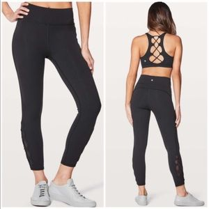 Lululemon Tied To It 7/8 Tights
